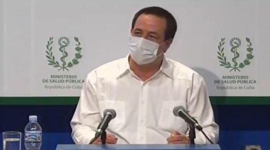 Doctor José Angel Portal Miranda, Ministro de Salud Pública.