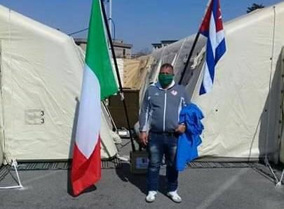 Médico del municipio de Contramaestre salva vidas en Lombardía, Italia