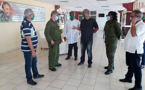Centro de Aislamiento para enfrentar la Covid-19, en el que se instaló la Facultad Preparatoria de la Universidad de Ciencias Médicas de #SantiagodeCuba