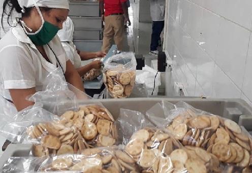 Reaniman producciones de galletas y dulces en Santiago