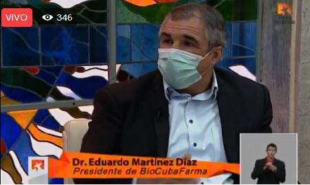 Por CMKC, BioCubaFarma entre las instituciones cubanas en la búsqueda de una vacuna criolla contra el coronavirus.