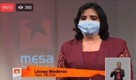 Lisnay Mederos, fiscal general de la provincia de Villa Clara