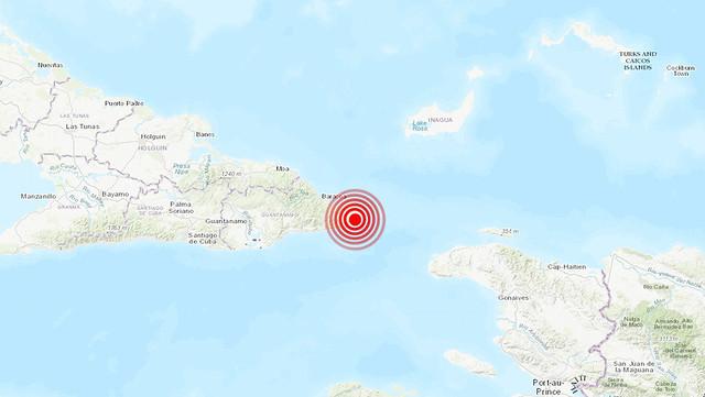 Sismo de magnitud de 4.8 despierta hoy a Baracoa