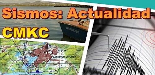 Actualidad sismológica en CMKC, Radio Revolución, desde Santiago de Cuba.