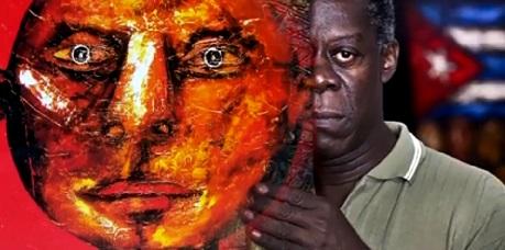 Pintor santiaguero El Choco evoca raíces afrocubanas.