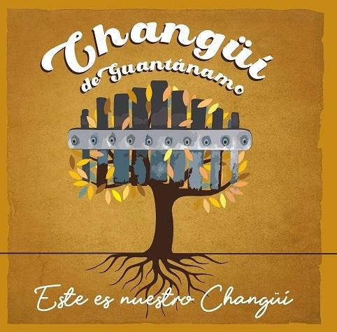 """ortada del CD """"Este es nuestro Changüí"""", grabado en los estudios EGREM Siboney de Santiago de Cuba."""