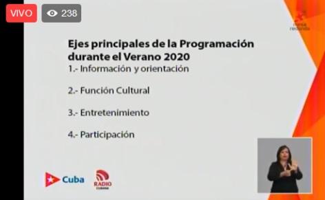 Fases de recuperación para elñ sistema nacional de la radio cubana, según dio a conocer Onelio Castillo, director nacional por el ICRT.
