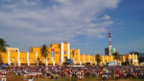 Memorias de la cabalgata por los 500 años de la fundaión de Santiago de Cuba. Foto: Santiago Romero Chang.