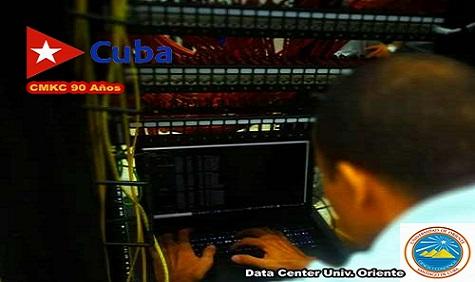 Nuevo Centro de Datos de la Universidad de Oriente en Santiago de Cuba. CMKC, Radio Revolución.