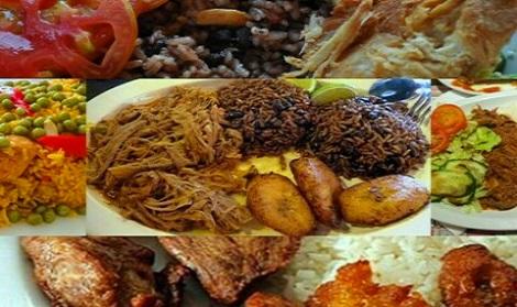 Comida criolla más presente en la gastronomía santiaguera.
