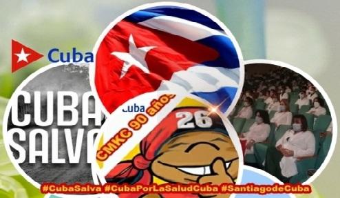 #CubaSalva por el bien de la Humanidad. Imagen: Santiago Romero Chang.