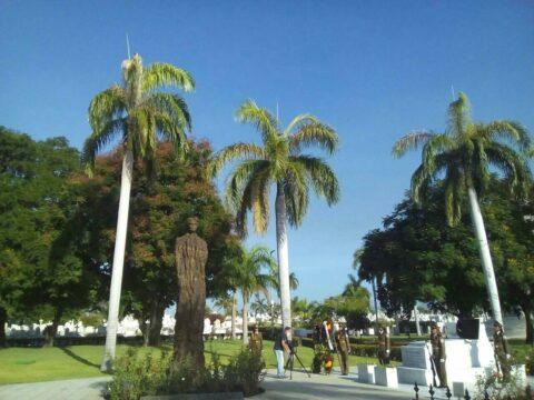 Homenaje a Mariana Grajales en el aniversario 205 de su natalicio