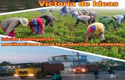 Inician Santiagueros movilizaciones agrícolas