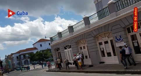 Ayuntamiento y la Catedral de Santiago de Cuba. Foto: Santiago Romero Chang.