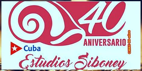 Estudios Siboney de la EGREM en el aniversario 40.