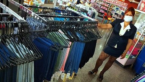 Elegancia y Seguridad sanitaria en la reapertura de la tienda Plaza de Marte TRD Caribe. Foto: Santiago Romero Chang.