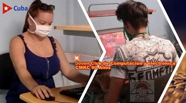 Joven Club de Computación y Electrónica en Santiago de Cuba. CMKC, Radio Revolución. Edición: Santiago Romero Chang.