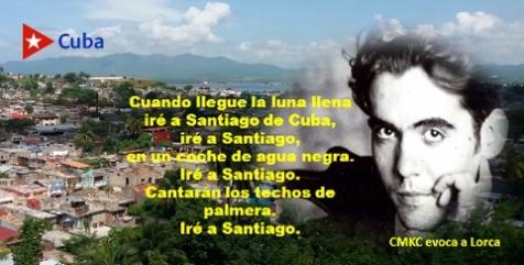 Entre muchos apogeos llegó a Santiago de Cuba, Federico García Lorca