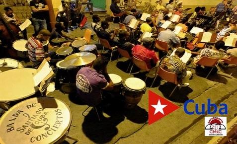 Banda de Conciertos en sus 120 años en Santiago