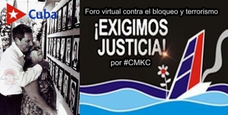 Foro virtual contra el bloqueo y terrorismo por #CMKC