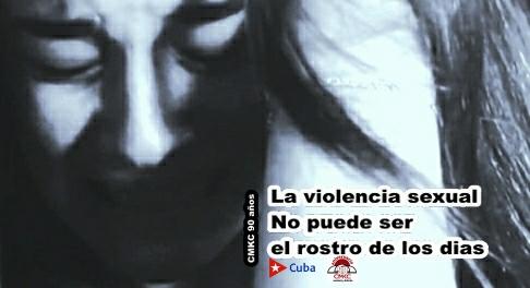 La violencia sexual No puede ser el Rostro de los Días.Imagen: Santiago Romero Chang.