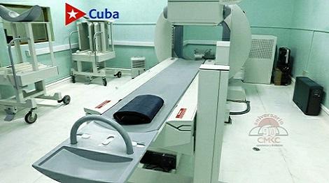 Instalación y mantenimientos de equipos de alta tecnología para los estudios y diagnósticos oncológicos en Santiago de Cuba.