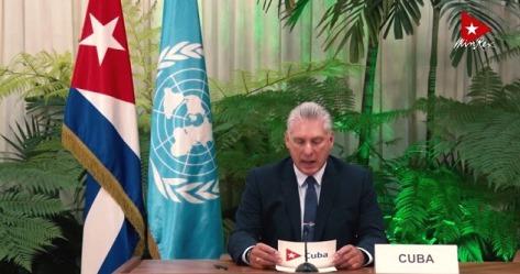 Presidente de Cuba, Miguel Díaz Canel Bermúdez