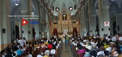 Celebra Santiago Día de la Virgen de la Caridad, la Santa Patrona Cubana