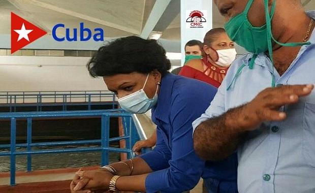 Chequea Chapman Waugh programa hidráulico en Santiago de Cuba
