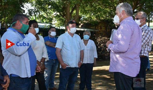 Presidente de la República y su equipo de trabajo iniciaron este 15 de octubre por Santiago de Cuba el tercer ciclo de visitas gubernamentales por las provincias del país