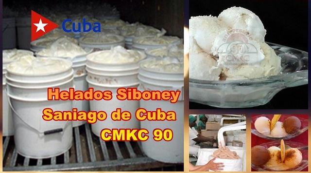 Helados Siboney de Santiago de Cuba
