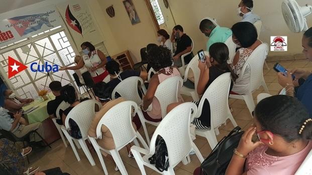 Centró en la Gestión del Sistema de Medios, Festival Provincial de la Prensa 2020 en Santiago de Cuba. Foto: Santiago Romero Chang.